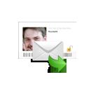E-mail met een  medium uit Den Haag